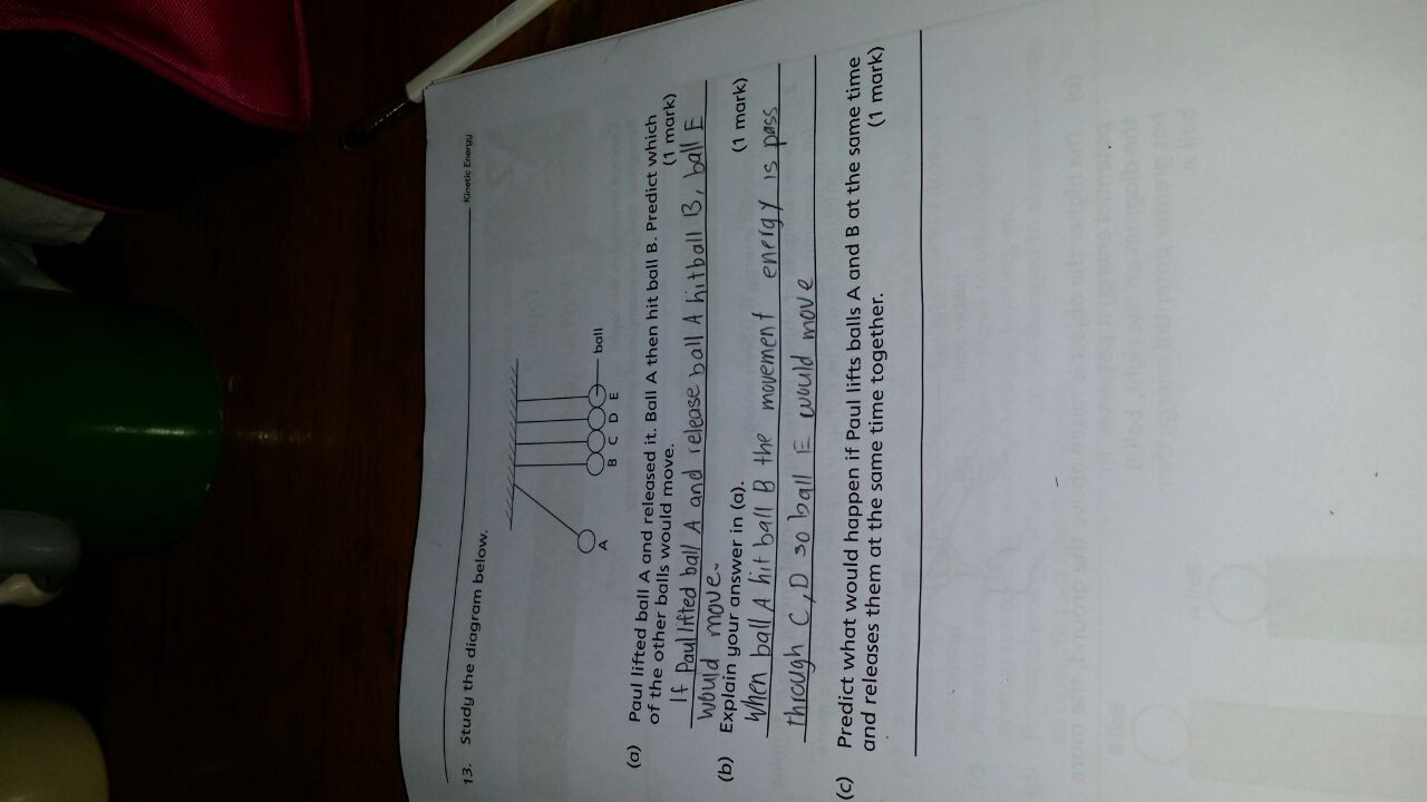 How do you solve this science question